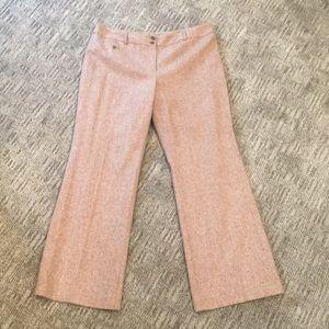 Ann Taylor Petite Tweed Trouser Pant Sz 14P